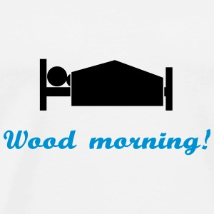 wood morning Sweaters - Mannen Premium T-shirt