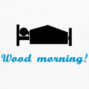 wood morning Sweatshirts - Herre premium T-shirt med lange ærmer