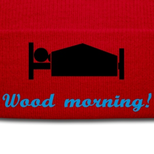 wood morning T-Shirts - Wintermütze