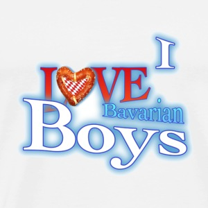 Love Bavarian Boys Tops - Männer Premium T-Shirt