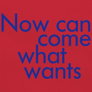 Statement : Now can come what wants - Retro Tasche