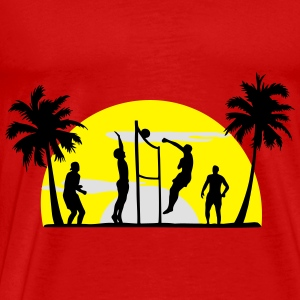 beachvolleybal, volleybal  Tops - Mannen Premium T-shirt