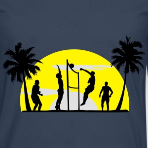 volley-ball, beach-volley - T-shirt manches longues Premium Homme