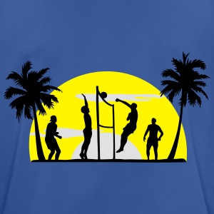 beach volleyball, volleyball  Pullover & Hoodies - Herre T-shirt svedtransporterende