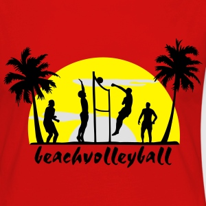 volley-ball, beach-volley - T-shirt manches longues Premium Femme