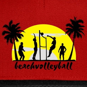 beach volleyball, volleyball  T-Shirts - Snapback Cap