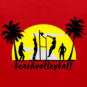 volley-ball, beach-volley - Débardeur Premium Homme