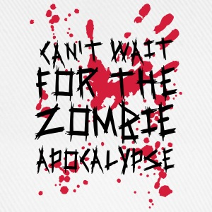 Can't wait for the Zombie Apocalypse Langarmshirts - Baseballkappe