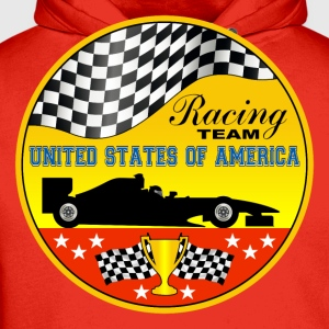 us racing team 01 Shirts - Men's Premium Hoodie