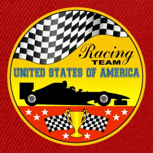 us racing team 01 Shirts - Snapback Cap