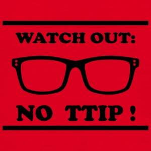 Watch out - TTIP Paraply - T-shirt herr