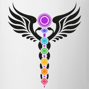 Kundalini, Chakras, Winged Serpent, Cosmic Energy Tee shirts - Tasse