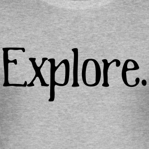 Explore - slim fit T-shirt