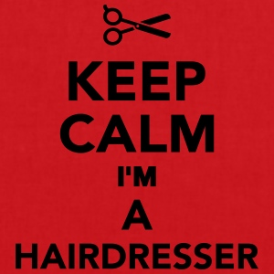 Keep calm I'm a hairdresser T-Shirts - Stoffbeutel