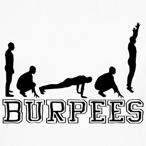 Burpees (Silhouette) Tee shirts - T-shirt manches longues Premium Homme