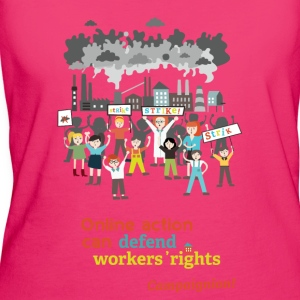 Workers' rights Bags & Backpacks - Women's Organic T-shirt