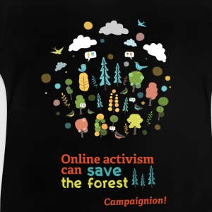Save the forest dark T-Shirts - Baby T-Shirt