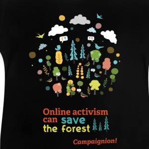 Save the forest dark Shirts - Baby T-Shirt