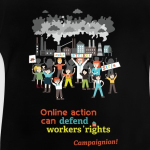 Workers' rights Shirts - Baby T-Shirt