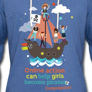 Pirates Shirts - Light Unisex Sweatshirt Hoodie