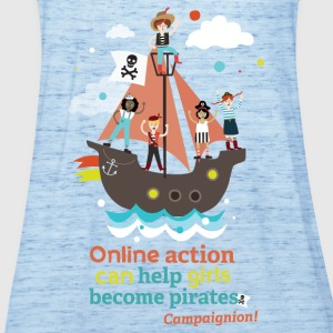 Pirates Shirts - Women's Tank Top by Bella