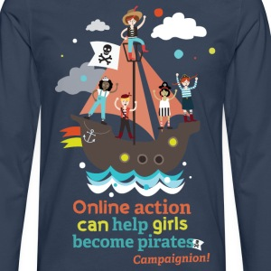 Pirates T-Shirts - Men's Premium Longsleeve Shirt