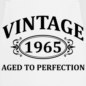 Vintage 1965 Aged to Perfection T-Shirts - Cooking Apron