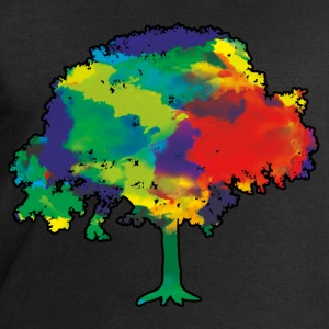 Tree of Life and Colour T-Shirts - Men's Sweatshirt by Stanley & Stella