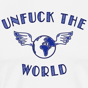 unfuck the world Tabliers - T-shirt Premium Homme
