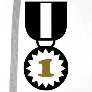 Medal Award Winner Best Master Sports Decoration T-Shirts - Men's Premium Hoodie