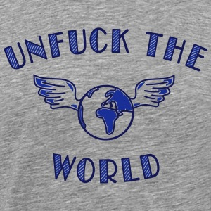 unfuck the world Langarmshirts - Männer Premium T-Shirt