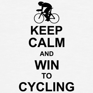 keep_calm_and_win_to_cycling Hoodies - Men's Premium T-Shirt