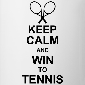 keep_calm_and_win_to_tennis_g1 Gadżety - Kubek