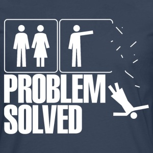 problem solved T-Shirts - Men's Premium Longsleeve Shirt