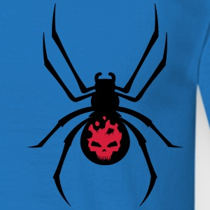 A black spider with red skull Hoodies & Sweatshirts - Men's T-Shirt