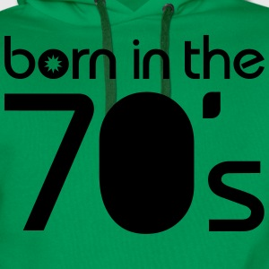 born in the 70´s T-Shirts - Men's Premium Hoodie