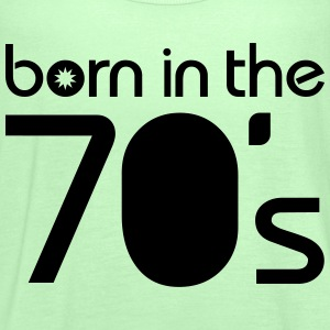 born in the 70´s Tee shirts - Débardeur Femme marque Bella