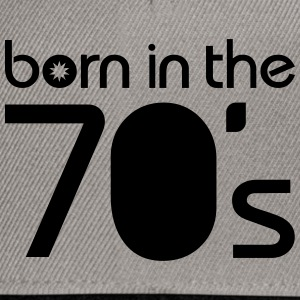born in the 70´s Tee shirts - Casquette snapback