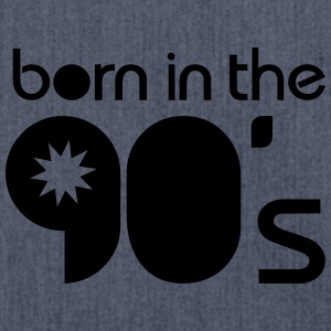 born in the 90´s Tee shirts - Sac bandoulière 100 % recyclé