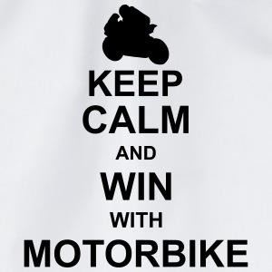 keep_calm_and_win_with_motorbyke_g1 Shirts - Gymtas