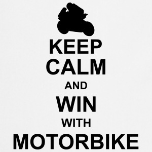 keep_calm_and_win_with_motorbyke_g1 Shirts - Keukenschort
