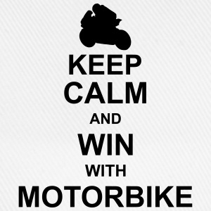 keep_calm_and_win_with_motorbyke_g1 Shirts - Baseballcap