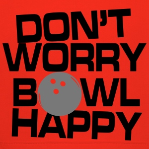 Don't worry bowl happy T-Shirts - Kids' Premium Hoodie