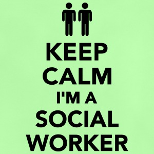 Keep calm I'm Social worker T-Shirts - Baby T-Shirt