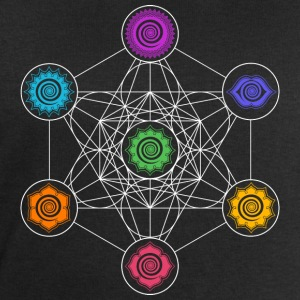 Metatrons Cube, Chakras, Cosmic Energy Centers Manches longues - Sweat-shirt Homme Stanley & Stella