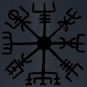 Vegvisir, Magic, Runes,  Protection & Navigation Sweatshirts - Flexfit baseballcap