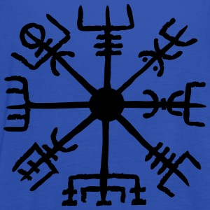 Vegvisir, Magic, Runes,  Protection & Navigation Sweat-shirts - Débardeur Femme marque Bella