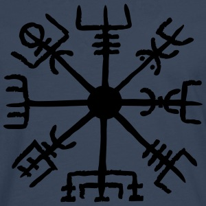 Vegvisir, Magic, Runes,  Protection & Navigation Tröjor - Långärmad premium-T-shirt herr