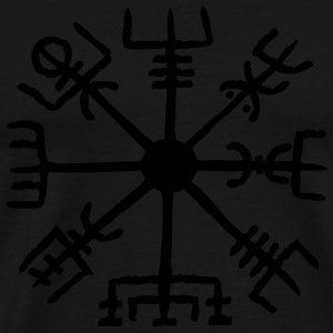 Vegvisir, Magic, Runes,  Protection & Navigation Hoodies & Sweatshirts - Men's Premium T-Shirt