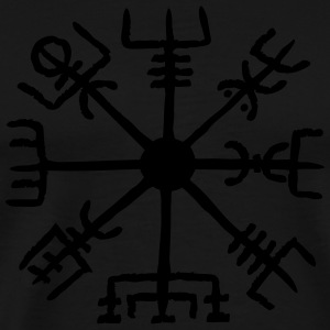 Vegvisir, Magic, Runes,  Protection & Navigation Långärmade T-shirts - Premium-T-shirt herr